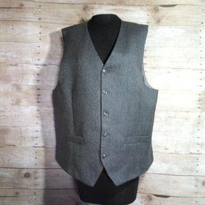 Jos. A. Bank grey 1905 collection 100% vest